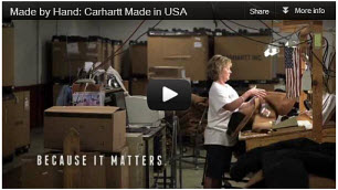 Carhartt Cloting, Made in the USA by UNION Workers