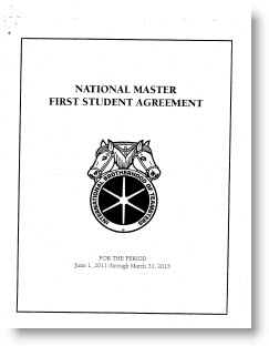 National Master First Student Agreement