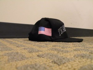 Baseball cap, side