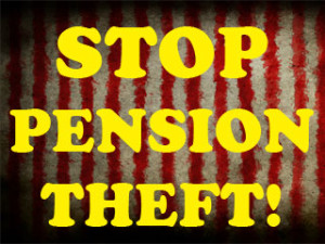 Stop pension theft