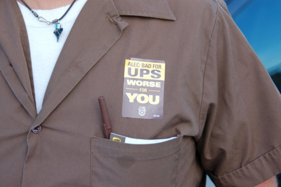 ALEC bad for UPS, worse for you.