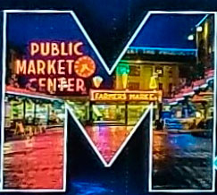 Pike Place Market in the M