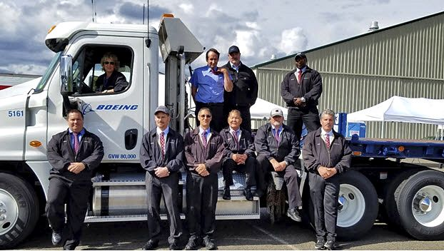 Boeing drivers at 2016 Washington State Truck Driving Championship