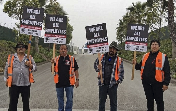Drivers, Warehouse Workers to Culminate Port Actions with LA March