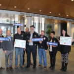 Teamsters Local 174 Descends On City Hall
