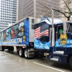Teamster Truck at the St. Patrick's Day Parade