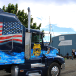 Teamster Truck at the Shilshole Rally June 8, 2017
