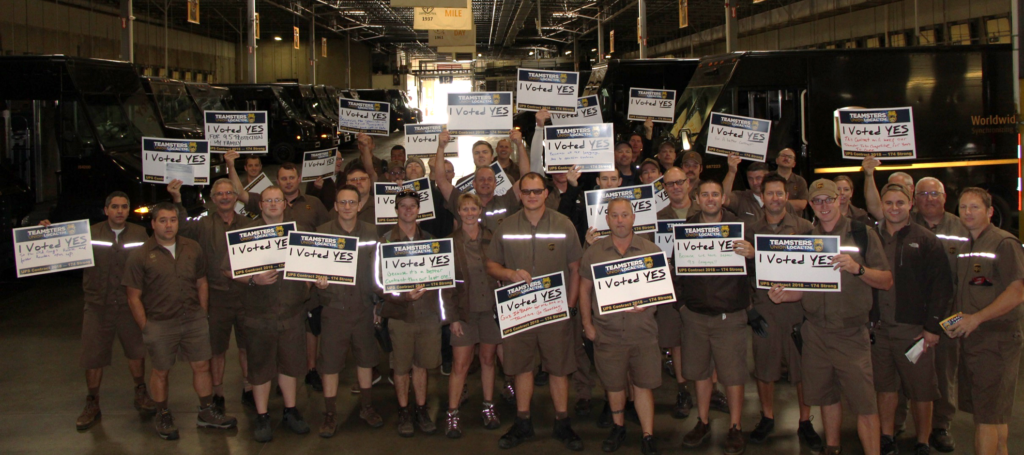Teamsters Local 174 Members Vote Overwhelmingly To Ratify Ups Agreement